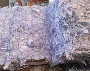 فروش پوشال سفید کاغذ