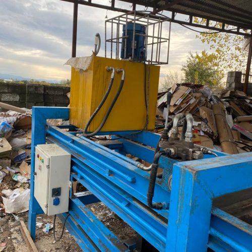 دستگاه پرس ضایعات فوق العاده تمیز ۳۰۰ کیلویی