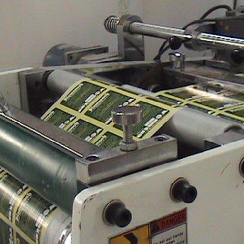 چاپ انواع لیبل