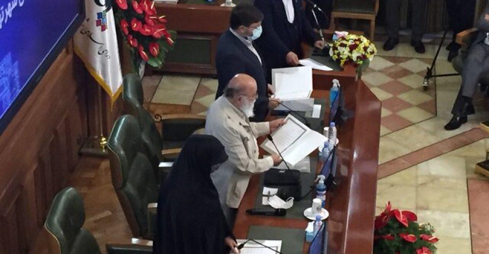 """""""چمران"""" رییس و """"سروری"""" نائب رییس شورای شهر تهران شد/منشیها هم انتخاب شدند"""