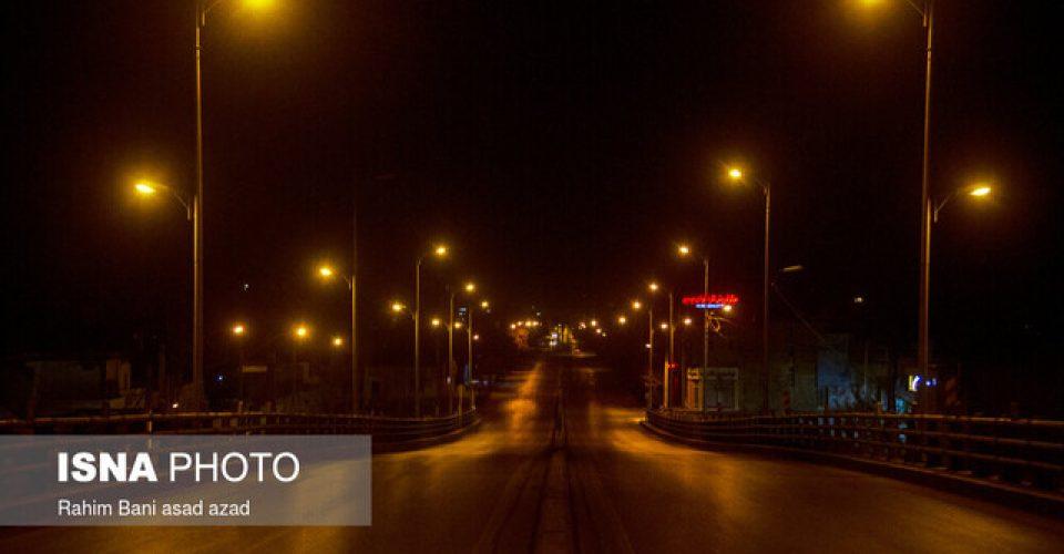 آخرین وضعیت اجرای محدودیتهای ترافیکی کرونا و منع تردد شبانه در کشور